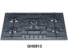 LPG/NG built in 5 burners gas hob/stove with professional manufactuer kitchen appliance