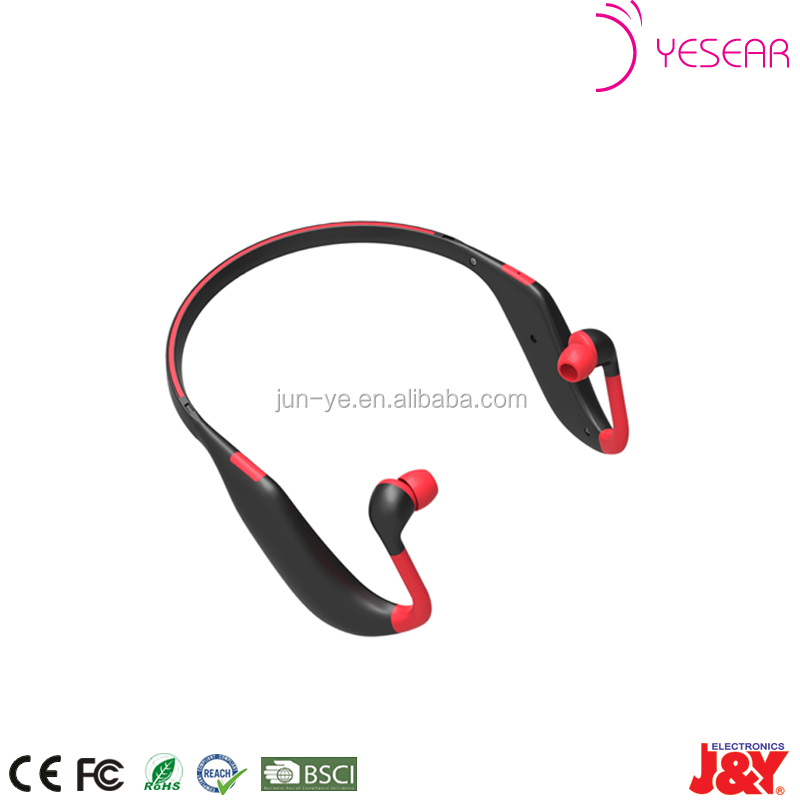 OEM neckband bluetooth in ear stereo earphone headphone for sporting
