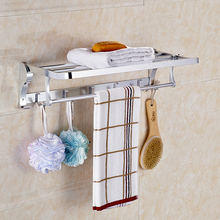Factory wholesale stainless steel Towel Racks With hooks