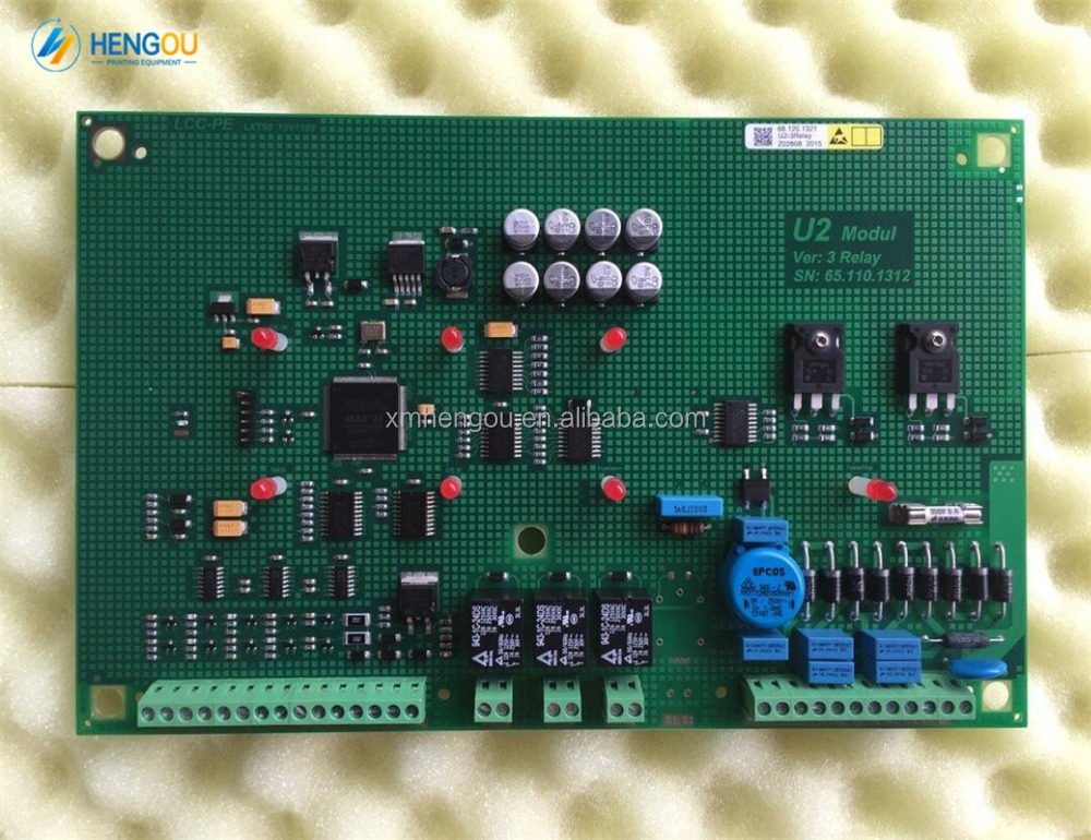 1 piece main circuit board for offset printing machine 68.120.1312 Heidelberg DMK-<strong>U2</strong> board 65.110.1312