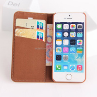 Sheep skin pattern pufolio case for iphone 5/5s PU leather mobile phone case
