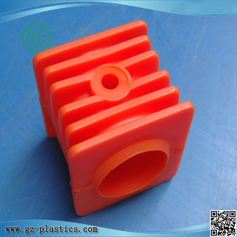 High precision custom make injection mold PU plastic part