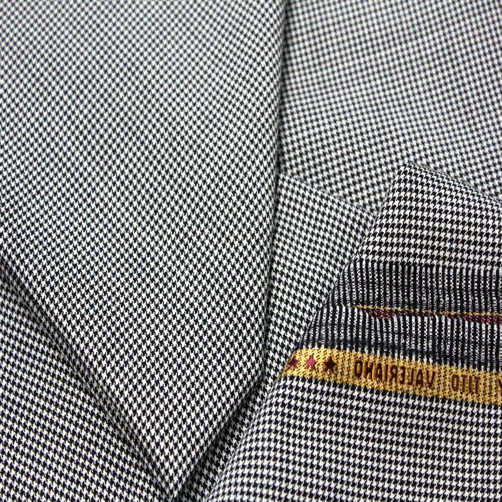 Wholesale Female Business Houndstooth Wool China Suit Fabrics