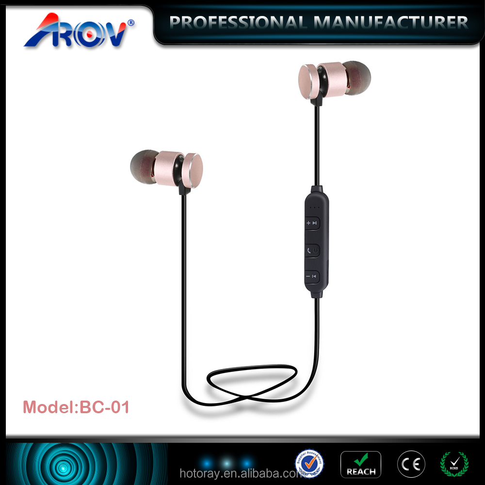 Active noise cancelling sport earphone bluetooth wireless mini boses headphone