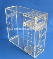 Transparent acrylic computer case wholesale