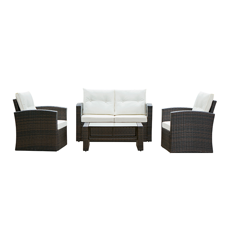 Outdoor Patio Furniture Rattan Sofa Set