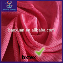 100 polyester double knit fabric for sports jerseys