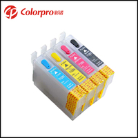 Wholesale T1281 1282 1283 1284 Refill Ink Cartridge for Epson SX125 SX130 S22 SX230 ink cartridge