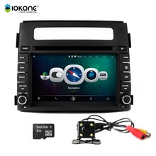 Iokone Android 4.4 Quad-Core Touch Screen Car Video Recorder GPS Navigation for KIA Soul 2013 2014