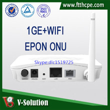 1Gigabit ftth fttb fttx home gateway network 1GE+WiFi GEPON ONU