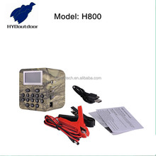 hunting bird mp3 player with voltage detection H800