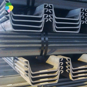 Hot Rolled Z / U profile sections Type Steel Sheet Pile factory price
