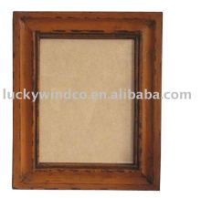 elegant wedding paper photo picture frame orange