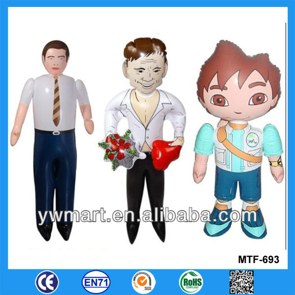 Various designs inflatable cartoon model, advertising inflatable cartoon character model for promotion