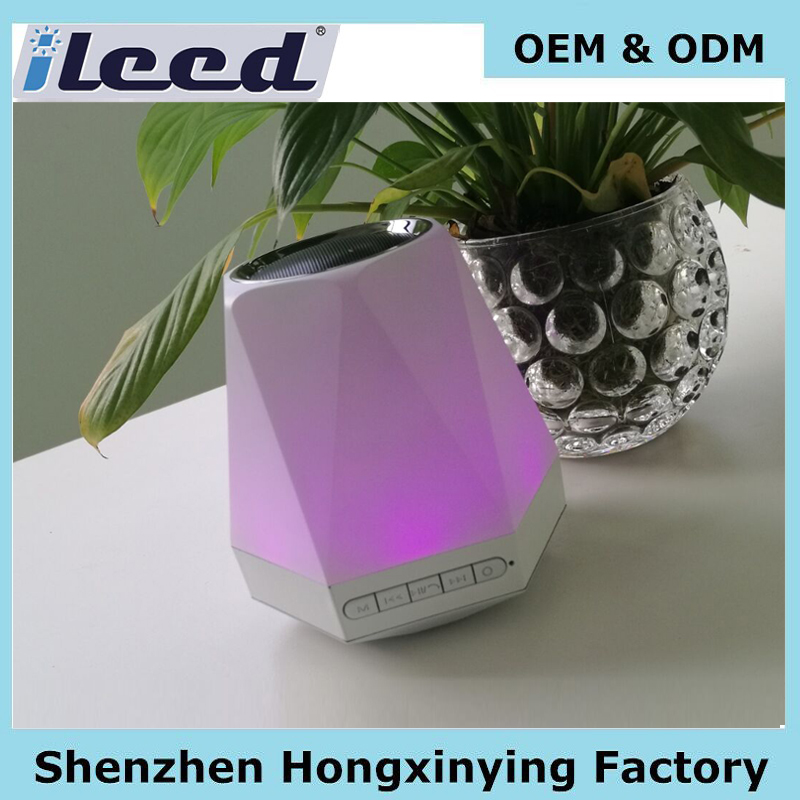 Music Mini Bluetooth Speaker, hot sale wireless Speaker Bluetooth Led Light, Jw Speaker Light mobile loudspeaker