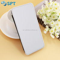 sublimation leather phone case with business card holder for Samsung S7 Edge
