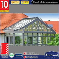 2016 factory new design aluminum winter garden sun rooms