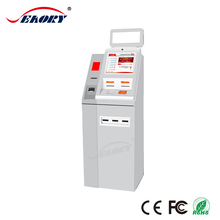self service foreign currency exchange kiosk machine/cash dispenser kiosk machine