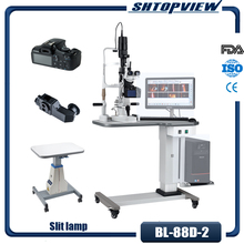 BL-88D-2 New Coming Slit Lamp Microscope Include Table And Imac With Digital Camera And Software