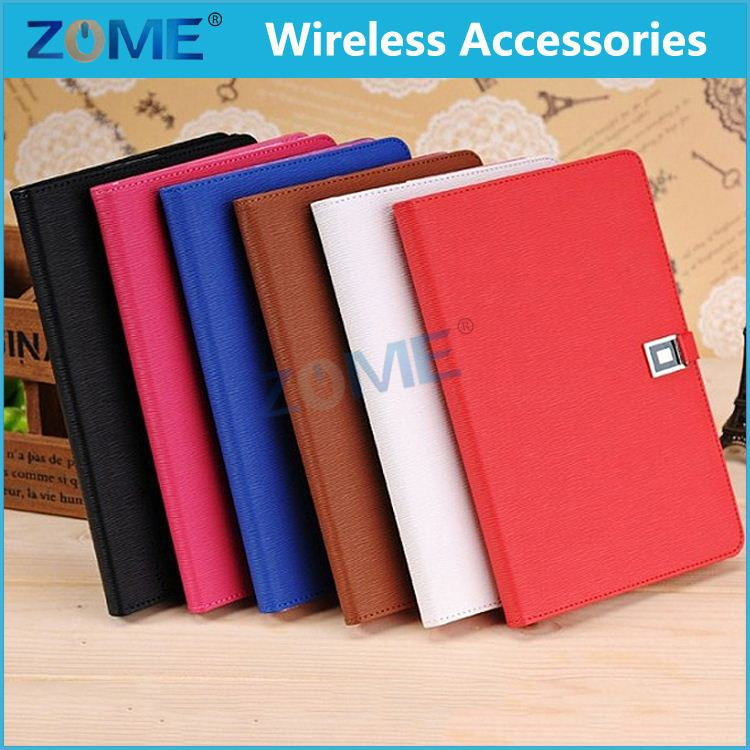 with taste book flip for ipad mini air case protect wallet style universal leather case