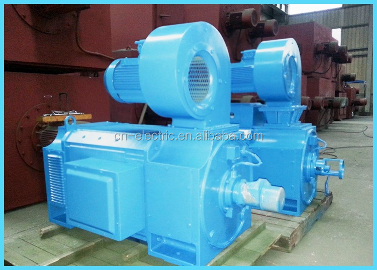 Medium size dc electrical motor 110kw