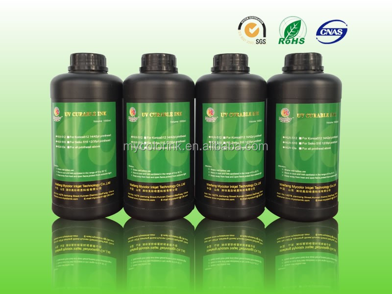 1L Package CMYKLcLmW uv ink price