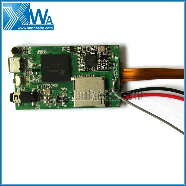 Mini Camera Module HD1080P P2P NOVATEK Chipset 650, AR0330 Lens