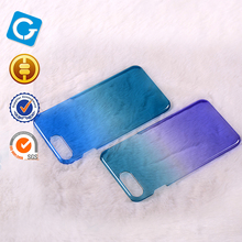 high transparent hard pc mobile phone case for iphone 7 plus