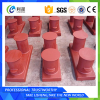 Cheapest price pull tugs steel bollard for ship