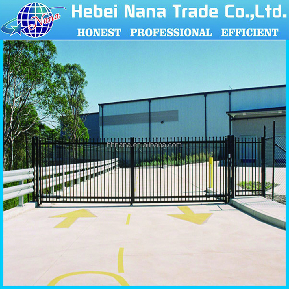 new style wrought iron house gate color