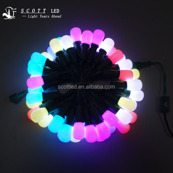 SMD5050 F8RGB G27 WS2811 full color IP68 led christmas lights