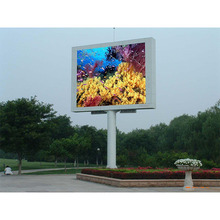 absolutely waterproof full color outdoor led display module p10