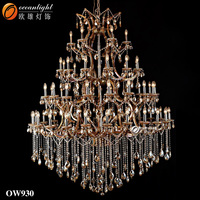 Clip lamp zhongshan Lighting Luxury hotel chandeliers for sale clip OW930