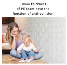Anti-collision and soundproof 3d foam kids wall decoration