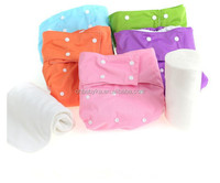 Ohbabyka new pul plain color washable and adjustable adult diapers panties