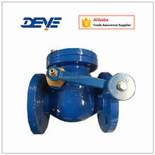 GG25 Cast Ductile Iron Swing Flap Check Valve with Lever Counter Weight