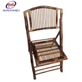 Natural bamboo material durable outdoor garden foldable chair on discount