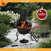 Cooking BBQ Grill Fire Chiminea