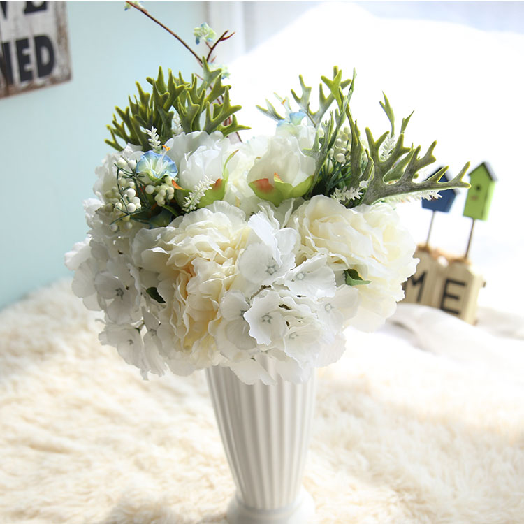 CF15501 Hot Sell New Style Peony Bouquet Artificial Decorative flowers