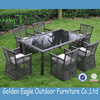 outdoor indoor garden rattan wicker aluminum dining set waterproof outdoor furniture covers