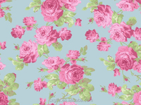 red rose green background design home textile bed sheets