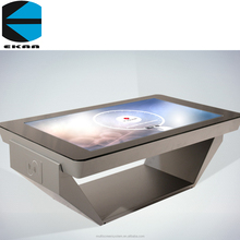 EKAA interactive multi touch screen table for restaurant mall, coffee shop, bar, public place