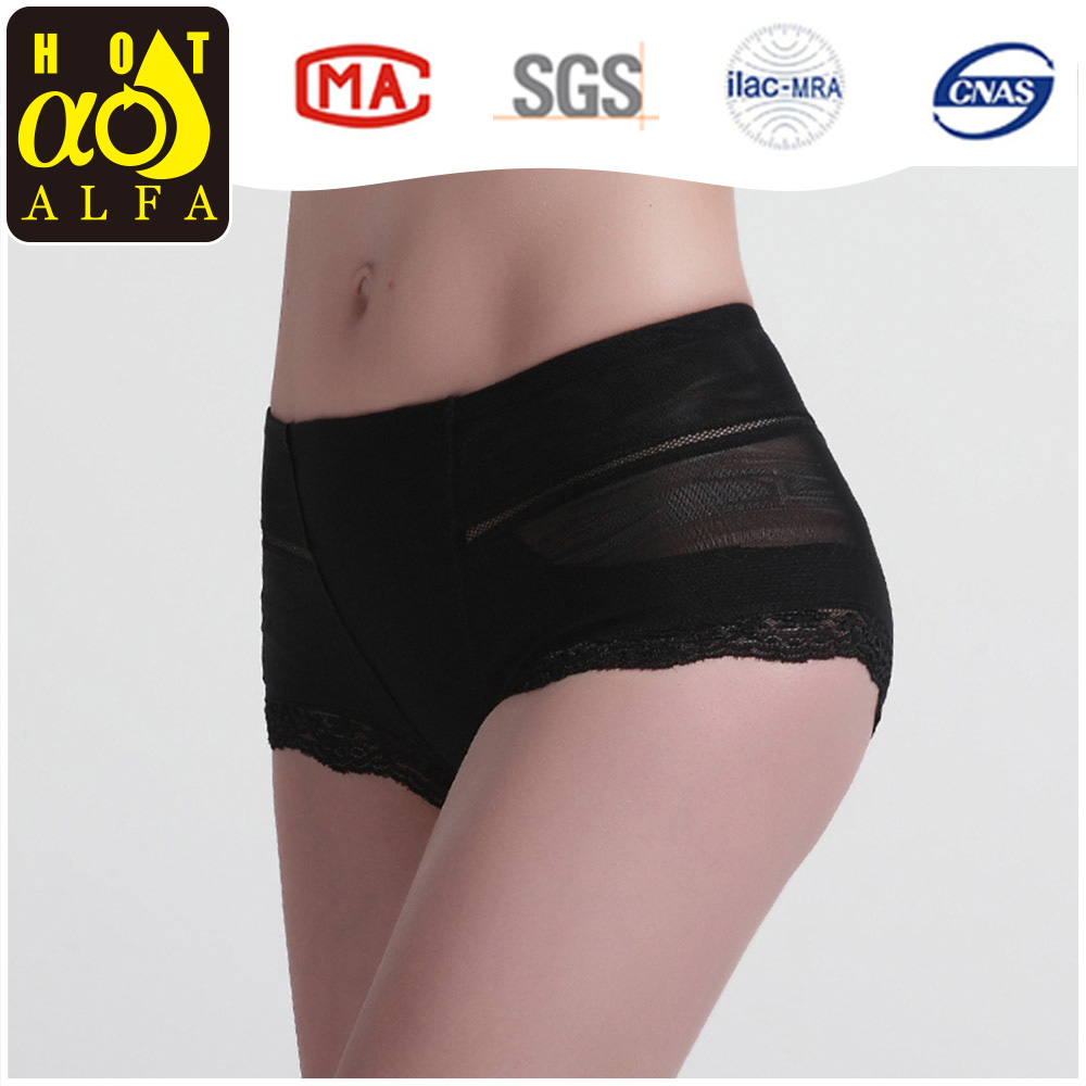 High Quality Sexy Ladies Canton Fair Black low waist Lace Underwear Fancy Free Panties Sample K166
