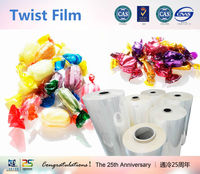 Factory direct sale candy wrapper PVC twist film