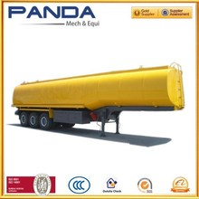 Panda chemical tanker truck and trailer chemical tanker truck and trailer petroleum tanker truck and trailer with factory price