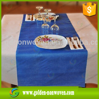1m*1m Disposable 100% polypropylene spun-bonded printed non-woven tablecloth & table cloth roll for wedding