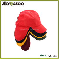 Various color cotton cap with back flap/winter cap with ear flap
