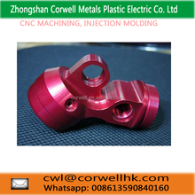 2017 high end customized anodized cnc machined aluminum parts