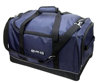 Durable Dark Blue Dobby Nylon and 600D Polyester with U Shape Zipper For Sports Duffel Bag