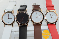 Famous brand GC leather couples Men women wrist watch Top quality small dial watch